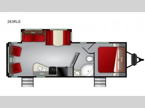 Shadow Cruiser 263RLS Floorplan Image