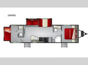 Shadow Cruiser 289RBS Floorplan Image