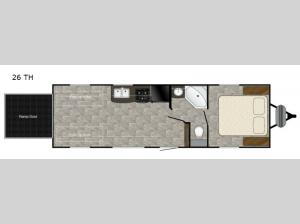Trail Runner 26 TH Floorplan Image