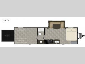 Trail Runner 28 TH Floorplan Image