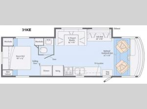 Vista 31KE Floorplan Image