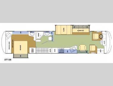 Floorplan - 2008 Coachmen RV Sportscoach Pathfinder 377 DS