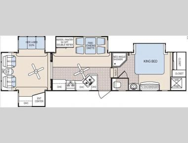 Floorplan - 2009 Dutchmen RV Grand Junction 37QSL