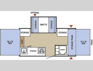 Floorplan - 2009 Starcraft  2409