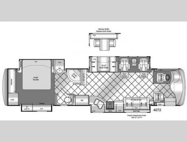 Floorplan - 2009 Damon Tuscany 4072