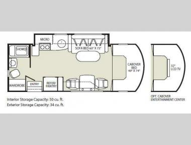 Floorplan - 2010 Fleetwood RV Pulse 24S