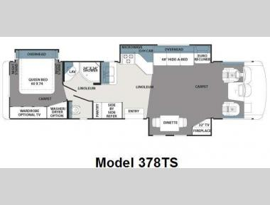 Floorplan - 2011 Forest River RV Georgetown 378TS