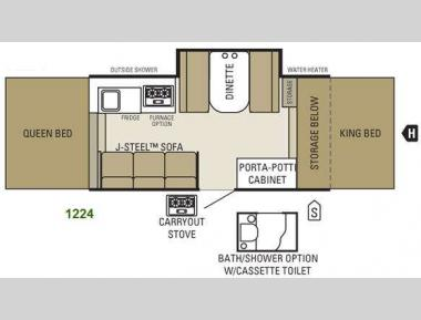 Floorplan - 2011 Starcraft  1224