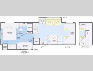 Floorplan - 2011 Itasca Impulse 31JP