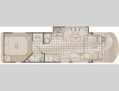 Floorplan - 2011 Damon Avanti 3106