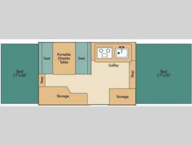 Floorplan - 2011 Coleman The Destiny Series Yuma