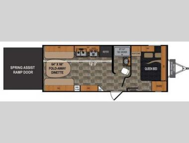 Floorplan - 2011 Dutchmen RV Rubicon 2100