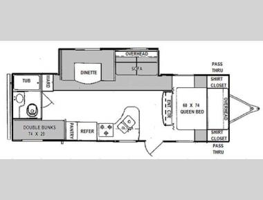 Floorplan - 2012 Prime Time Manufacturing Tracer 2670BHS