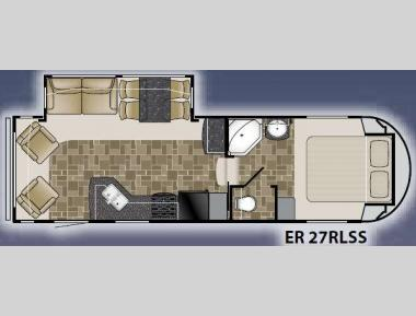 Floorplan - 2012 Heartland ElkRidge 27RLSS