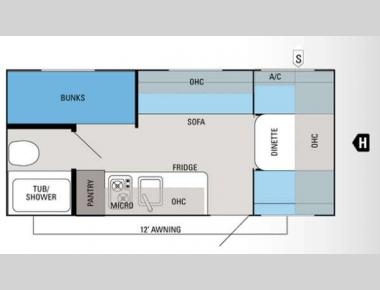 Floorplan - 2012 Jayco Jay Flight Swift SLX 184BH