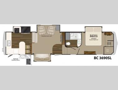 Floorplan - 2013 Heartland Big Country 3690 SL