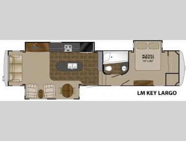 Floorplan - 2013 Heartland Landmark Key Largo