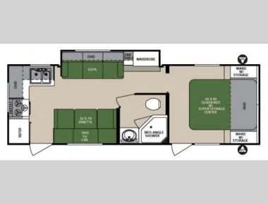 Floorplan - 2013 Forest River RV Surveyor Select SV 264