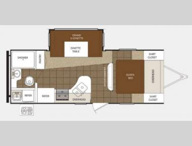 Floorplan - 2013 Prime Time Manufacturing Tracer 230FBS