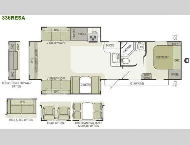 Floorplan - 2013 Starcraft  Autumn Ridge 336RESA