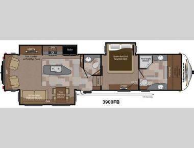 Floorplan - 2013 Keystone RV Montana 3900 FB