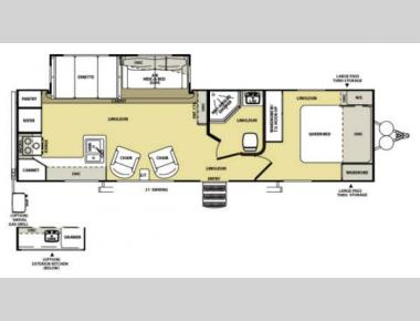 Floorplan - 2013 Forest River RV Salem Hemisphere Lite 282RK