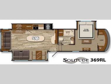 Floorplan - 2014 Grand Design Solitude 369RL
