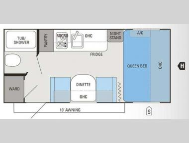 Floorplan - 2014 Jayco Jay Flight Swift SLX 185RB