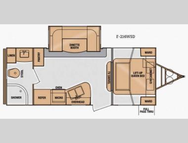 Floorplan - 2014 Cruiser Fun Finder F-214WSD