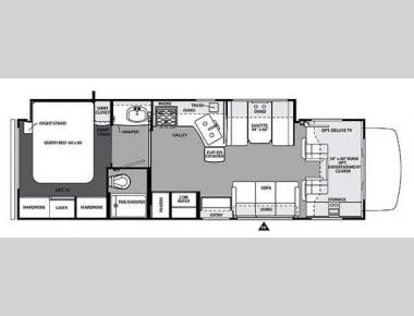 Floorplan - 2014 Forest River RV Forester 3051S Ford