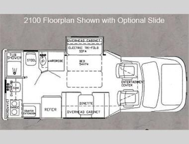Floorplan - 2013 Phoenix USA Phoenix Cruiser 2100
