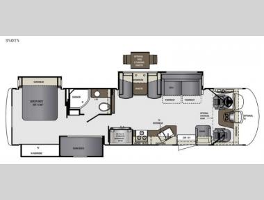 Floorplan - 2015 Forest River RV Georgetown XL 350TSF