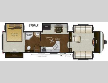 Floorplan - 2015 Keystone RV Mountaineer 375FLF