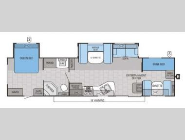 Floorplan - 2015 Jayco Jay Flight 36BHDS