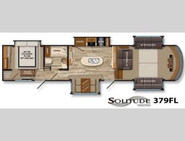 Floorplan - 2015 Grand Design Solitude 379FL