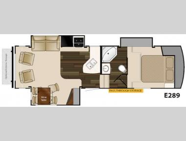 Floorplan - 2015 Heartland ElkRidge Xtreme Light E289