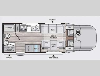 Floorplan - 2015 Dynamax Rev 24RB