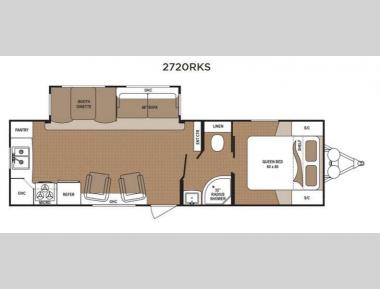Floorplan - 2015 Dutchmen RV Aspen Trail 2720RKS