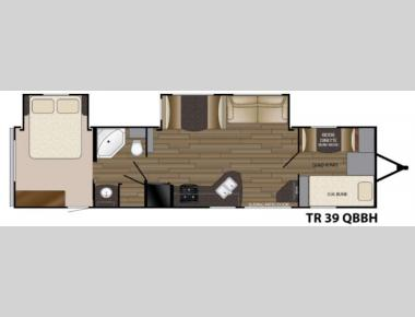 Floorplan - 2016 Heartland Trail Runner 39QBBH
