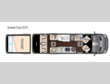 Floorplan - 2016 Airstream RV Interstate Grand Tour EXT Grand Tour EXT