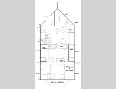 Floorplan - 2016 Ice Castle Fish Houses Lake of the Woods Hybrid