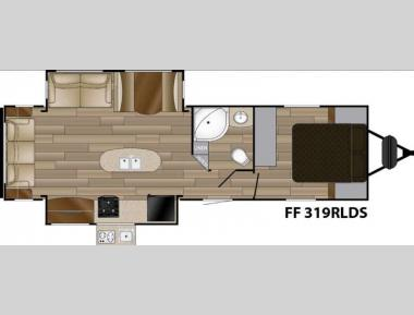 Floorplan - 2016 Cruiser Signature Edition F-319RLDS