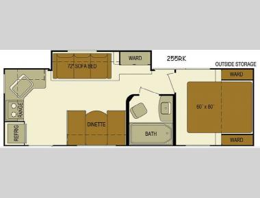 Floorplan - 2016 Skyline Layton Javelin 255RK