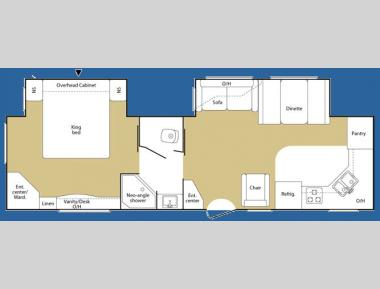 Floorplan - 2007 Keystone RV Sprinter 300KBS