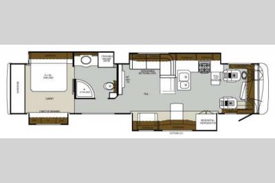 Floorplan - 2014 Forest River RV Charleston 430FK
