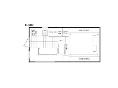 Floorplan - 2017 RC Willett Inc Northstar Pop-Up TC800