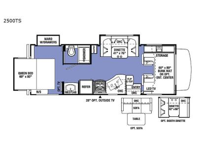 New 2020 Forest River RV Sunseeker 2500TS Chevy Motor Home Class C at Kunes Country RV | Elkhorn ...