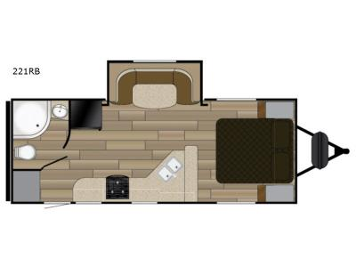 Floorplan - 2017 Heartland Sundance XLT 221RB