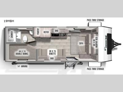 New 2022 Forest River RV IBEX 19MBH Photo