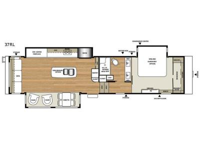 Floorplan - 2017 RiverStone 37RL